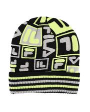 Men - Ribbed Cuff Striped Beanie-2571730