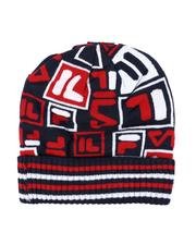 The Camper - Ribbed Cuff Striped Beanie-2571731