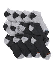 DRJ SOCK SHOP - 12Pk Non Terry Low Cut Socks-2571329
