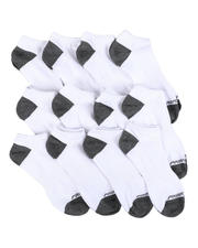 DRJ SOCK SHOP - 12Pk Non Terry Low Cut Sock-2571335