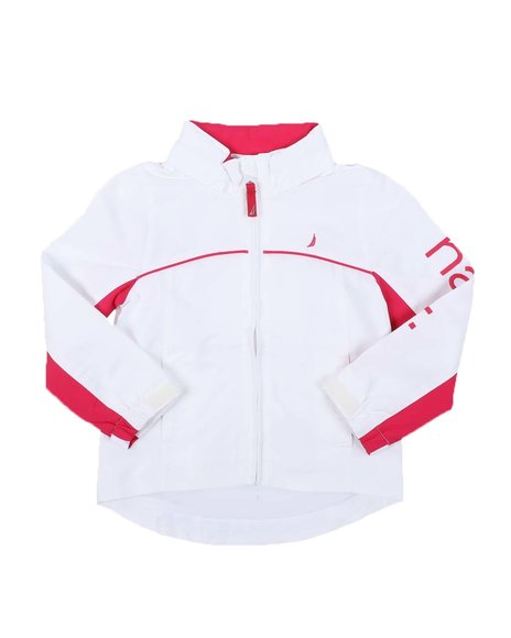 Nautica - Two Tone Anchor Jacket (4-6X)