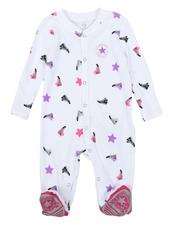 One Pieces - AOP Sneaker Footed Coverall (0-9Mo)-2575027