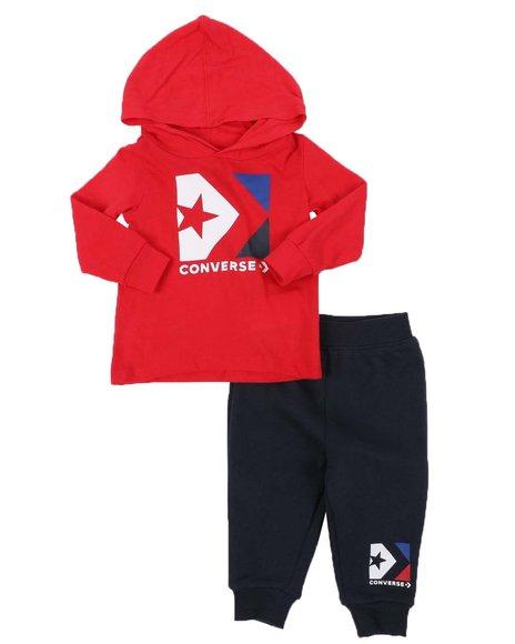 Converse - 2 Pc Star Hooded T-Shirt & Jogger Pants Set (Infant)