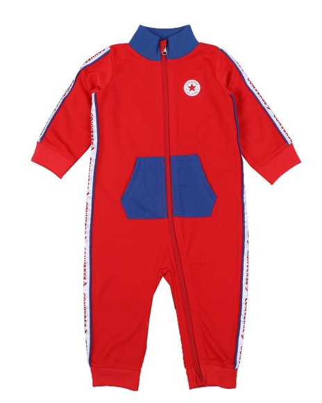 Converse - Chuck Tricot Zip Coverall (Infant)