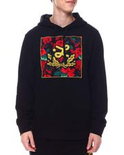 BLVCK - BLURRED ROSES PULLOVER HOODIE-2577310