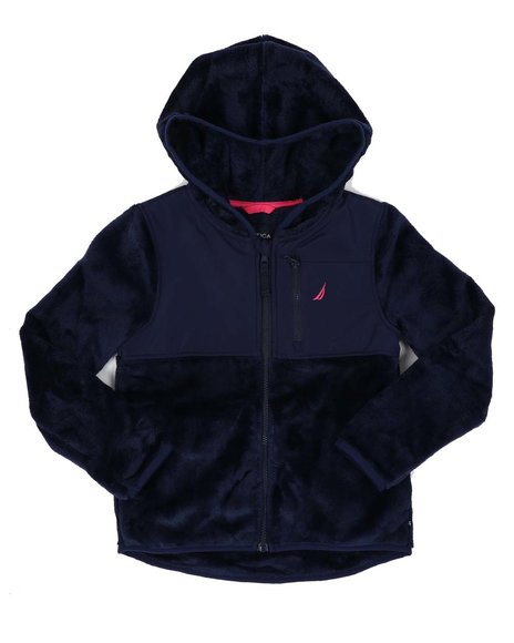 Nautica - Chipie Faux Fur Hooded Jacket (7-16)