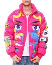 Men - Eyes Puffer Jacket-2577404
