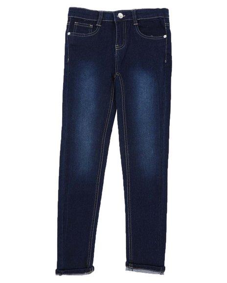 La Galleria - Roll Cuff Skinny Jeans (7-16)