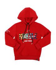 Hoodies - Hustle Pullover Hoodie (8-20)-2574650