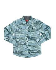 Boys - Camo Button-Down Shirt (6-20)-2574818