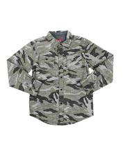 Button-downs - Camo Button-Down Shirt (6-20)-2574834