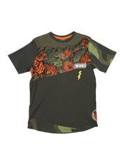 Boys - Tiger Color Block Tee (8-20)-2575002