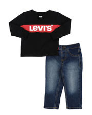 Levi's - 2 Pc Long Sleeve Tee & Jeans Set (Infant)-2575297