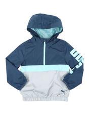 Boys - 1/4 Zip Up Windbreaker Jacket (4-7)-2575536
