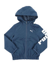 Puma - Zip Up Windbreaker Jacket (2T-4T)-2575600