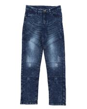 Boys - Washed Moto Jeans (8-16)-2576938