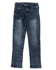 Boys - Washed Moto Jeans (8-16)-2576944