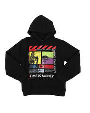 Arcade Styles - Time Is Money Pullover Hoodie (8-20)-2575820