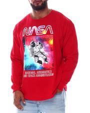 Akademiks - Nasa Flying Astronaut Long Sleeve T-Shirt (B&T)-2576934