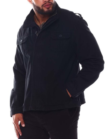 Liberation - High Neck Front Zip Jacket (B&T)