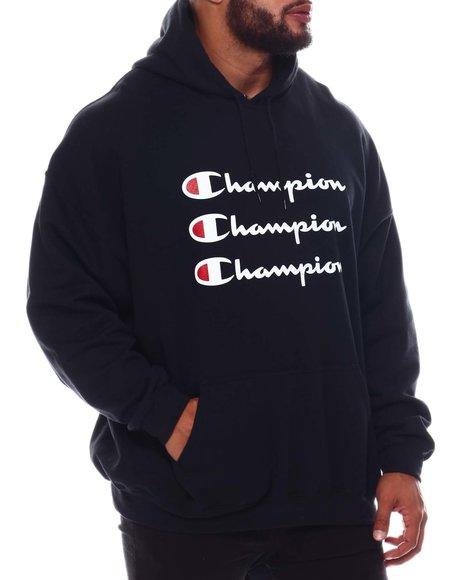Champion - Triple Repeat Hoodie Sweatshirt (B&T)