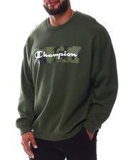 Champion - Camo Box Logo Crewneck Sweatshirt (B&T)-2575368