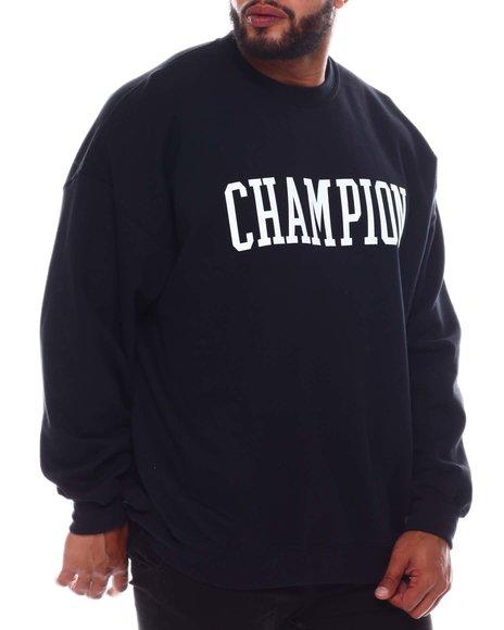 Champion - Collegiate Logo Crewneck Sweatshirt (B&T)