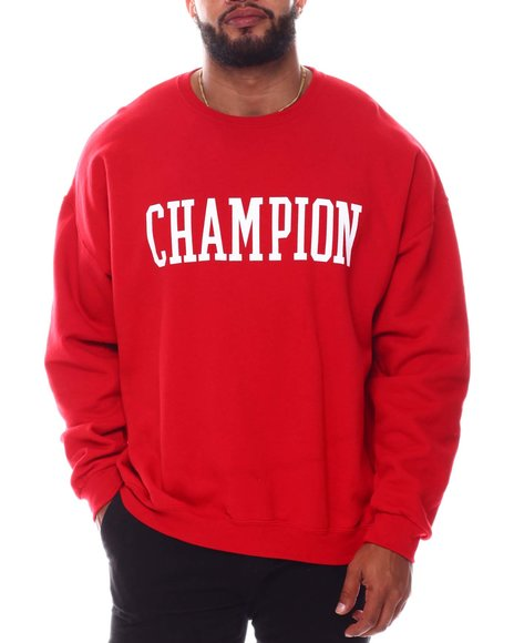 Champion - Collegiate Logo Crewneck Sweatshirt (B&T)