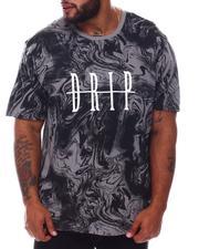 Brooklyn Cloth - Drip Marble T-Shirt (B&T)-2576701