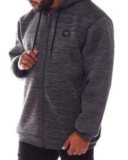 Light Jackets - Sherpa Full Zip Hoodie (B&T)-2577784