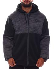 Light Jackets - Sherpa Full Zip Colorblock Hoodie (B&T)-2577760