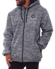Light Jackets - Sherpa Full Zip Hoodie (B&T)-2577780
