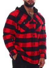 Light Jackets - Only One Buffalo Flannel (B&T)-2577835