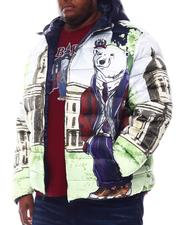 Outerwear - Collegiate Bear Bubble Jacket (B&T)-2578110