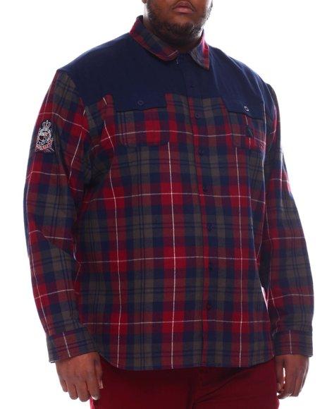 Born Fly - Collegiate Plaid Woven Shirt (B&T)