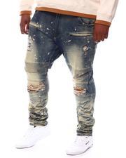 Jeans - Shredded Biker Jeans (B&T)-2577097