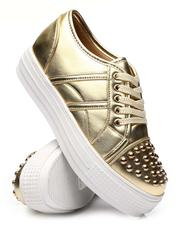 Fashion Lab - Studded Cap Toe Sneakers-2577575