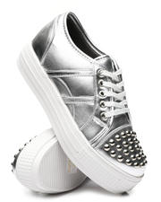 Fashion Lab - Studded Cap Toe Sneakers-2577583