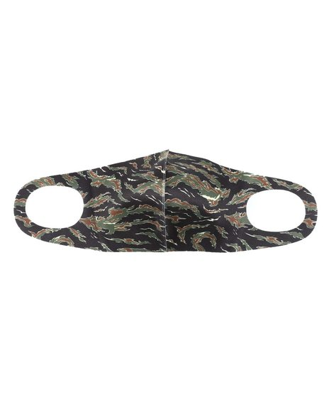 Hudson NYC - Tiger Camo Face Mask (Unisex)