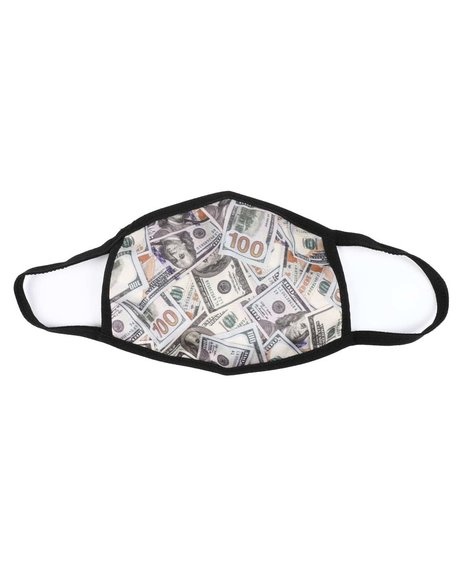 Hudson NYC - Put Your Money Face Mask (Unisex)