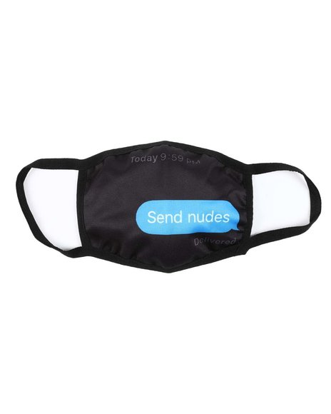 Hudson NYC - Send Nudes Face Mask (Unisex)