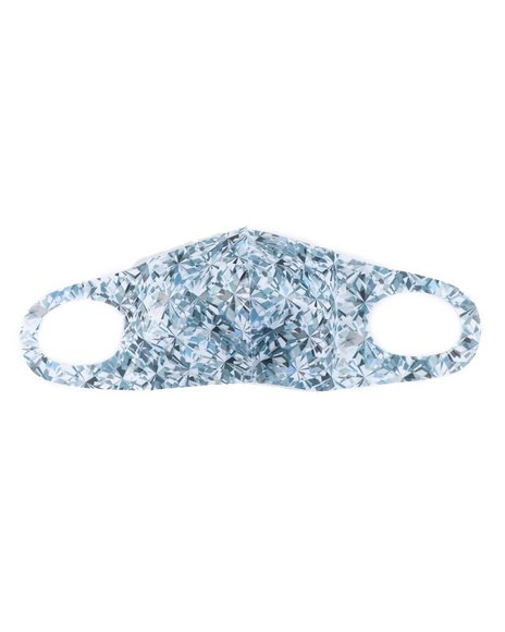 Hudson NYC - Diamonds Are Forever Face Mask (Unisex)