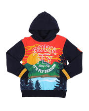Hoodies - Fly Season Fleece Pullover Hoodie (8-20)-2578190