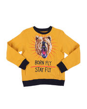Sweatshirts & Sweaters - Stay Fly Fleece Crew Neck Pullover (8-20)-2578195