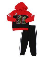 Sets - 2 Pc Legend Repeat Graphic Fleece Pullover Hoodie & Jogger Pants Set (2T-4T)-2577694