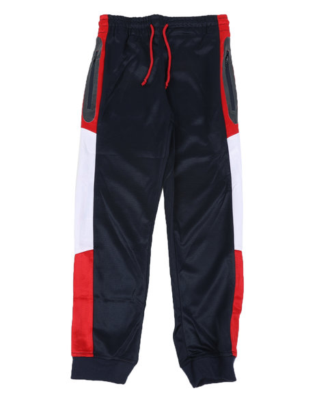 Arcade Styles - Color Block Tricot Joggers (8-18)