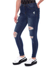Straight - Distressed 5 Pockets Jeans-2578926
