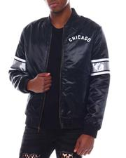 Athleisure - CHICAGO WHITE SOX Heavyweight Satin Jacket-2580209