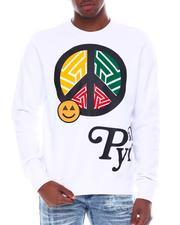 Black Pyramid - Peace Crewneck Sweatshirt-2579932
