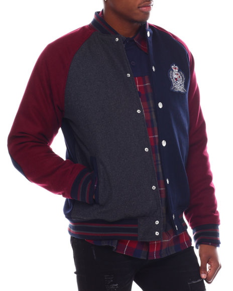Born Fly - OXFORD VARSITY JACKET